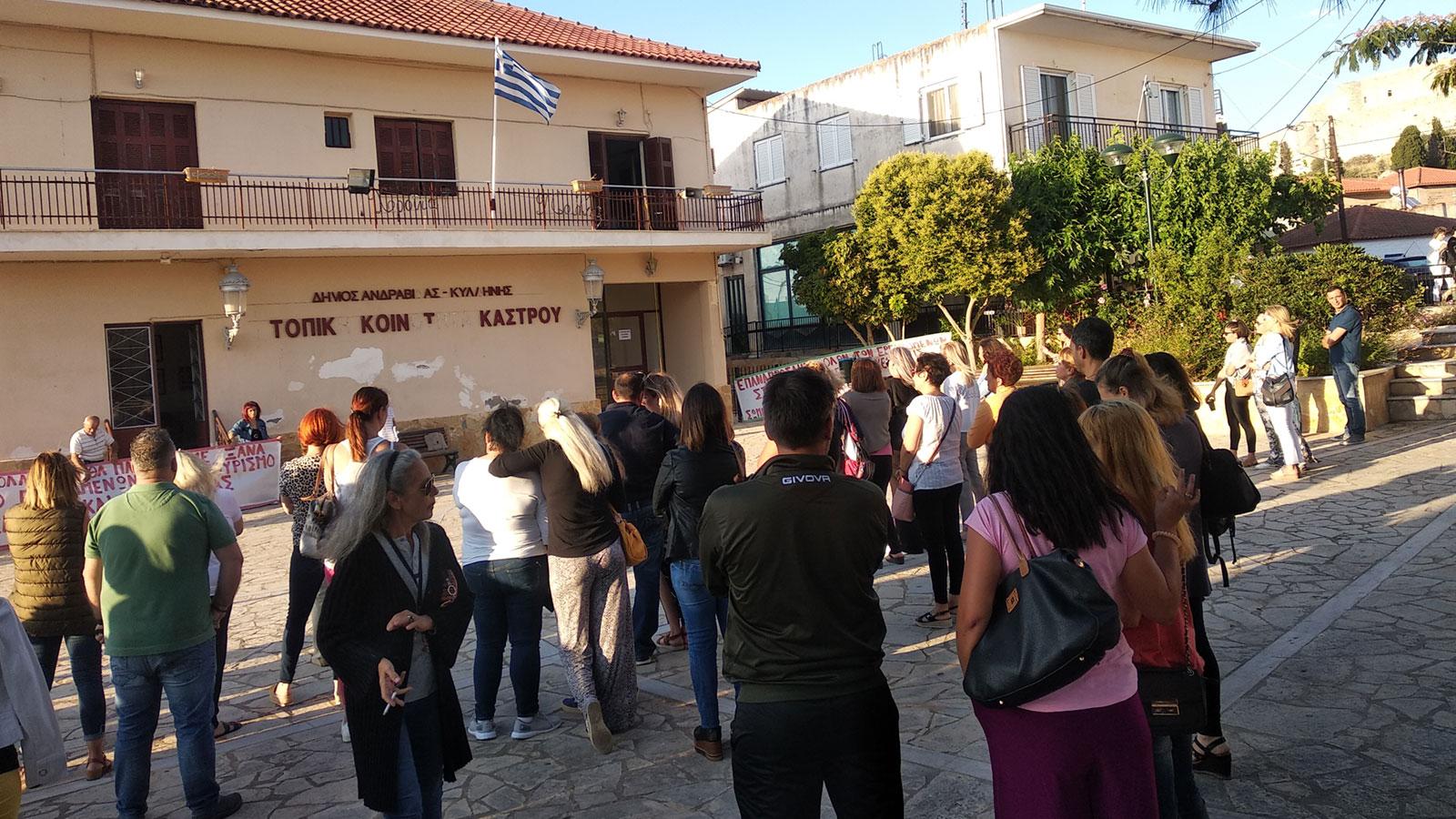 Ηλεία: Κινητοποίηση του Σωματείου Εργαζομένων στις Τουριστικές Επιχειρήσεις Κάστρου και Περιφέρειας (photos)