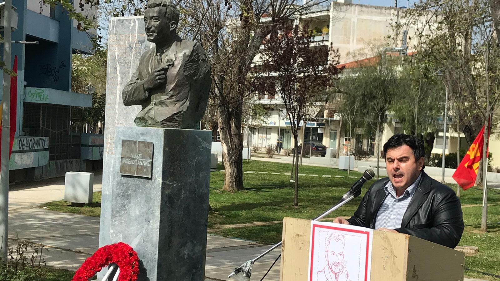 Aμαλιάδα: Εκδήλωση από την Τ.Ε. ΚΚΕ Ηλείας για τα 69 χρόνια από την εκτέλεση του Νίκου Μπελογιάννη (photos)