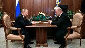 Από τη συνάντηση του Βλαντίμιρ Πούτιν με τον Μιχαήλ Μισούστιν