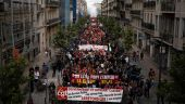 Από την κινητοποίηση που διοργάνωσε το CGT Bouches du Rhône στη Μασσαλία