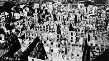 Τα ερείπια της Γκουέρνικα
