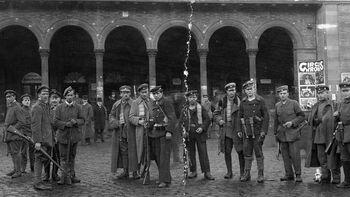 Άνδρες του Βαυαρικού Κόκκινου Στρατού