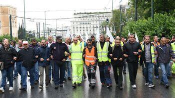 Αποτέλεσμα εικόνας για πετάνε στην ανεργία άλλες 15.000 συμβασιούχους στην καθαριότητα και άλλες υπηρεσίες των ΟΤΑ.