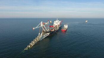 Από τις εργασίες για τον Nord Stream 2 (Πηγή: Allseas Group S.A.)