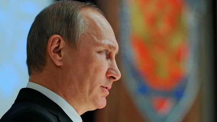 Ο Ρώσος πρόεδρος Βλαντιμίρ Πούτιν (φωτό ΑΡ)