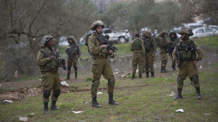 Το σημείο που σκοτώθηκε ο 15χρονος Παλαιστίνιος (Φωτό AP)