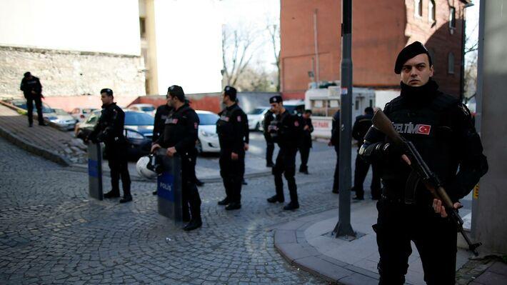 Αστυνομικοί στην Κωνσταντινούπολη (Φωτό αρχείου ΑΡ)