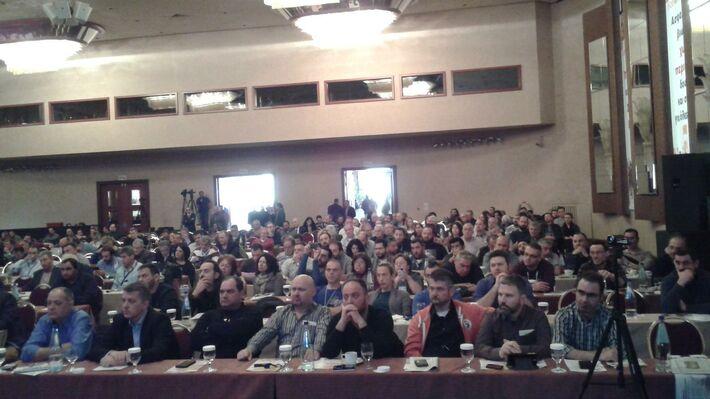 Οι αντιπρόσωποι του ΠΑΜΕ στο Συνέδριο της ΓΣΕΕ