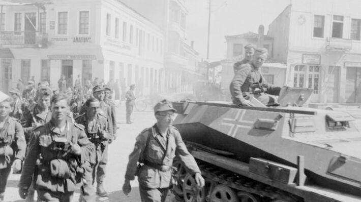 Από την είσοδο των Γερμανών στην Αθήνα