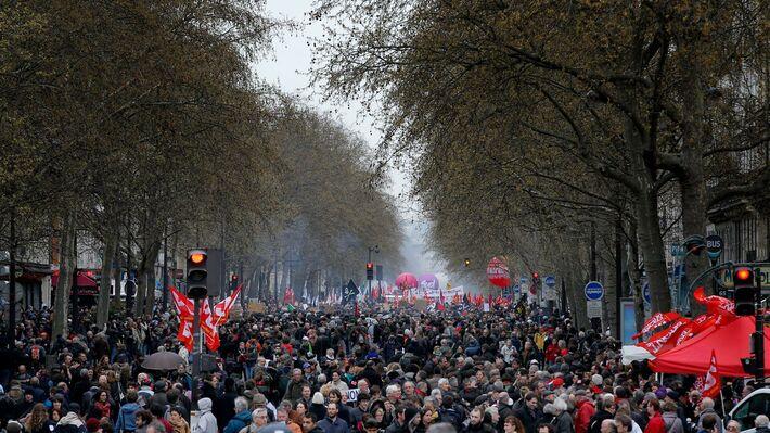 Από τις διαδηλώσεις κατά του «νόμου Κομρί» (πηγή: ΑΡ)
