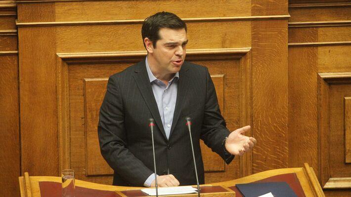 Από την ομιλία του Αλέξη Τσίπρα στην Βουλή στις 8 Μάη