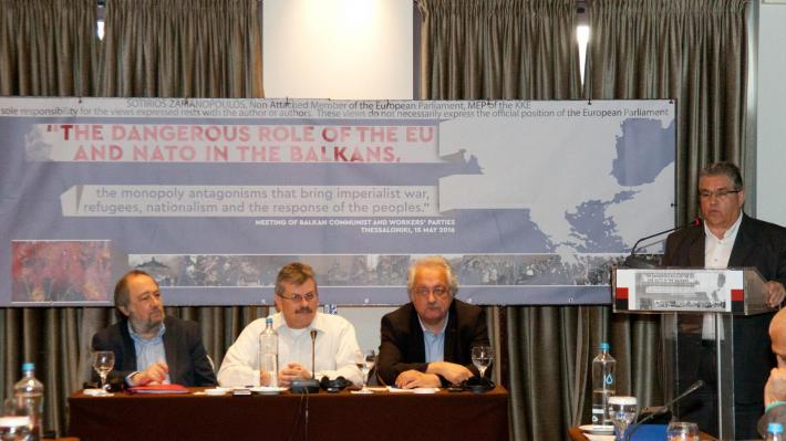 In Defense of Communism: Thessaloniki: Meeting of Communist and