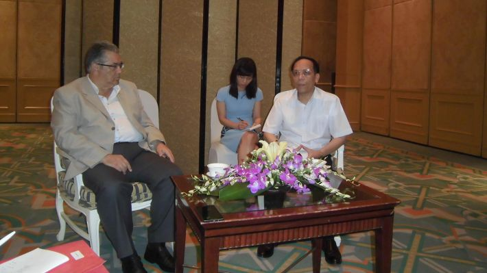Από τη συνάντηση υποδοχής του ΓΓ της ΚΕ του ΚΚΕ από τον αναπληρωτή πρόεδρο της Επιτροπής Διεθνών Σχέσεων της ΚΕ του ΚΚ Βιετνάμ