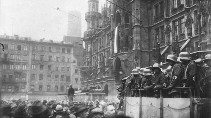 Από το λεγόμενο πραξικόπημα της Μπυραρίας που οργάνωσε το Ναζιστικό Κόμμα το 1923