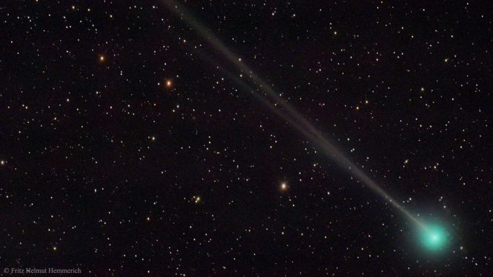 Ο κομήτης «45Ρ/Honda-Mrkos-Pajdusakova» (Πηγή: Fritz Helmut Hemmerich)