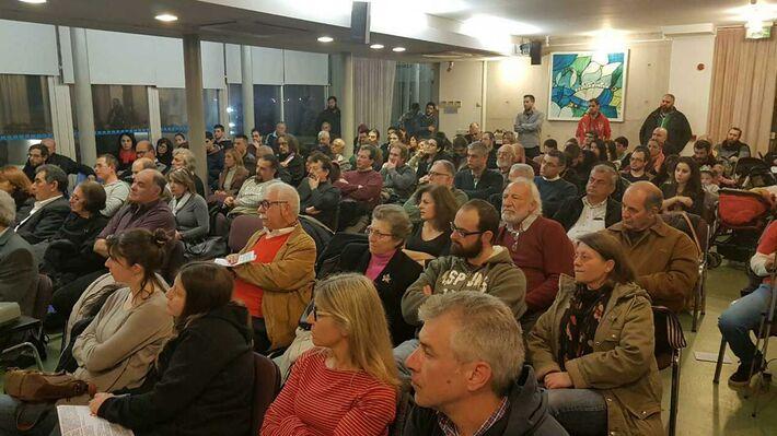 Από την εκδήλωση της ΚΟ Κύπρου του ΚΚΕ