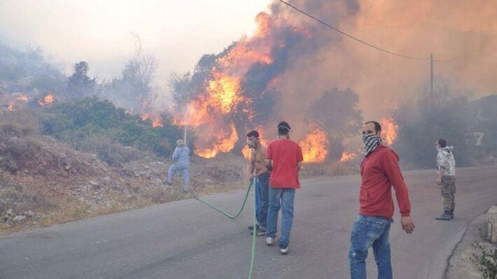 Από την περυσινή μεγάλη πυρκαγιά στη Χίο (politischios.gr)