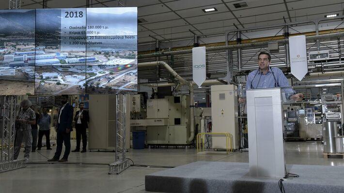 Από την πρόσφατη ομιλία του Α. Τσίπρα στο εργοστάσιο «Παπαστράτος»