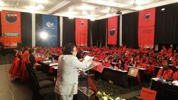 Από το 11ο Συνέδριο της Ομοσπονδίας Δημοσίου Ν. Αφρικής