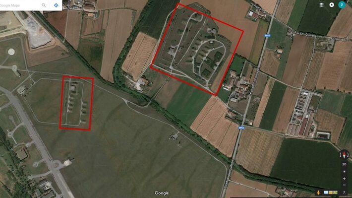 Οι εγκαταστάσεις στην βάση του Ghedi Torre (Πηγή: Google Earth)