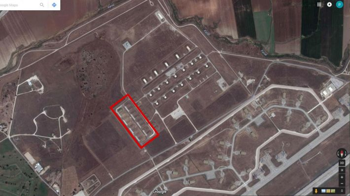Οι εγκαταστάσεις στην βάση του Ιντσιρλίκ (Πηγή: Google Earth)