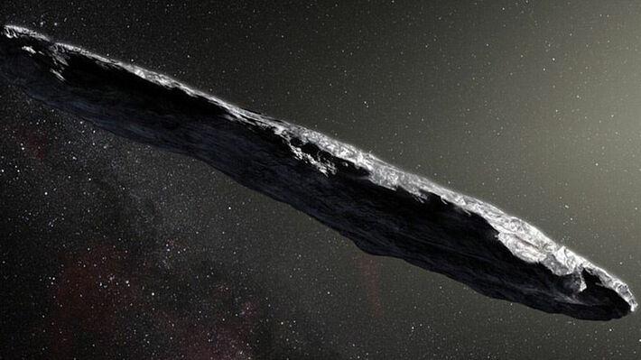 Καλλιτεχνική απεικόνιση του αστεροειδούς Α/2017 U1