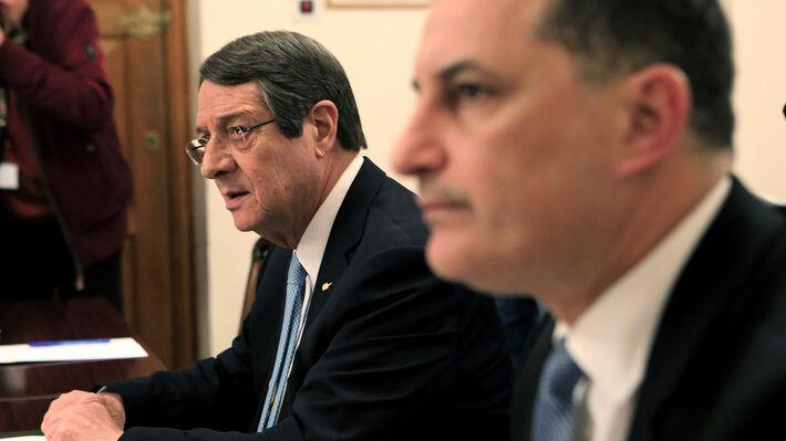 Ν. Αναστασιάδης και Γ. Λακκοτρύπης