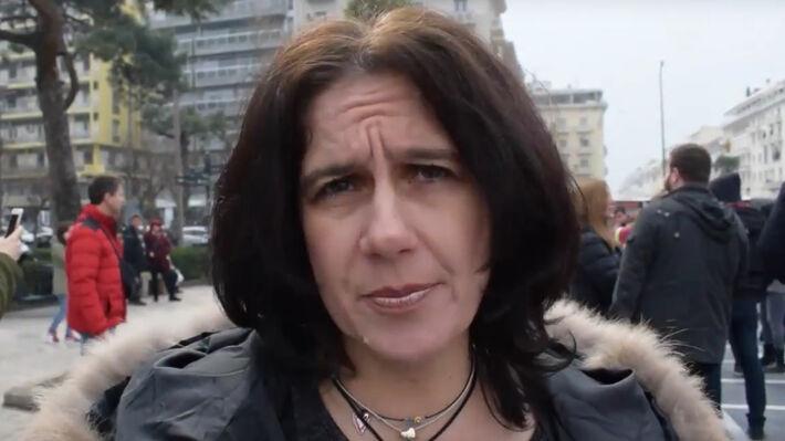Η Δ. Δάσιου, πρόεδρος της Α' ΕΛΜΕ Θεσσαλονίκης
