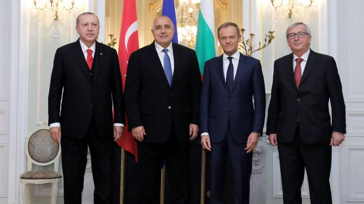 Από τη Σύνοδο ΕΕ - Τουρκίας στη Βάρνα