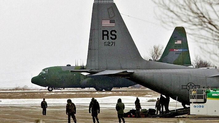 Αμερικανικά αεροπλάνα στη Ρουμανία το 2003