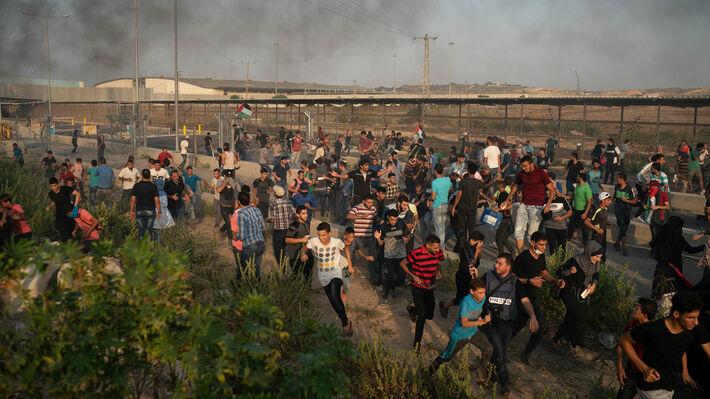 Από την καταστολή της διαδήλωσης στο συνοριακό πέρασμα