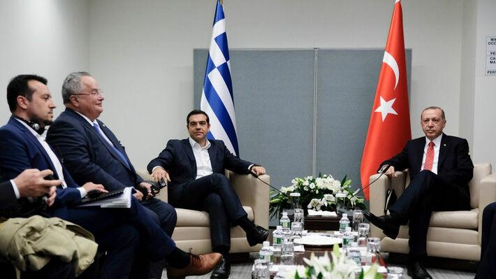 Από τη συνάντηση Τσίπρα - Ερντογάν στις 25 Σεπτέμβρη