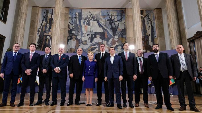 Από την τετραμερή σύνοδο συνεργασίας στο Βελιγράδι