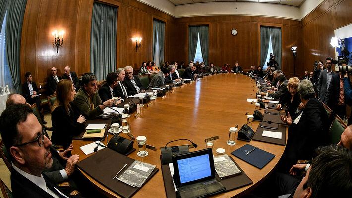 Από παλαιότερη συνεδρίαση του υπουργικού συμβουλίου