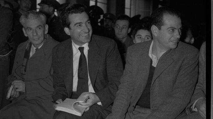Από τη δίκη του Ν. Μπελογιάννη και των συντρόφων του