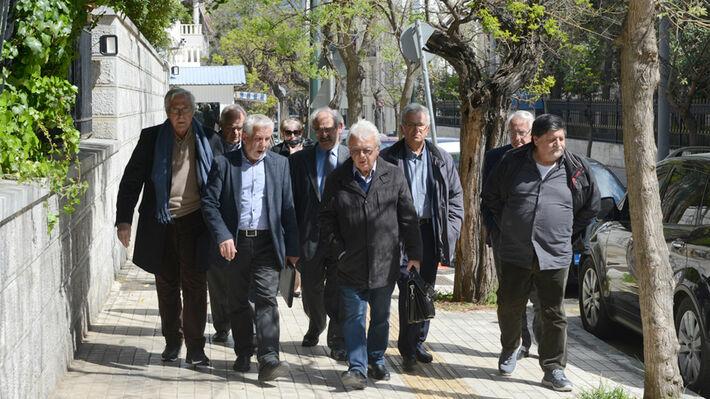 Τα δίκαια αιτήματα των συνταξιούχων έθεσε η αντιπροσωπεία των Συνεργαζόμενων Συνταξιουχικών Οργανώσεων