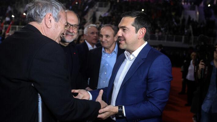 Από πρόσφατη εκδήλωση του ΣΥΡΙΖΑ στο Γαλάτσι