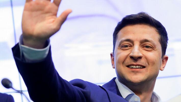 Ο ηθοποιός Βολοντιμίρ Ζελένσκι νέος πρόεδρος της χώρας | 902 Mobile