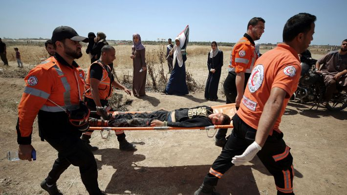 9d83c2771876 Δεκάδες τραυματίες από ισραηλινά πυρά στις συγκεντρώσεις της «Νάκμπα»  (ΦΩΤΟ)