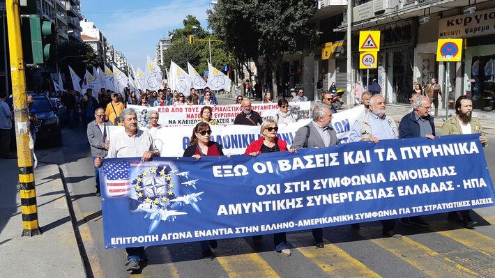Από τη μαζική, μαχητική κινητοποίηση στην Θεσσαλονίκη