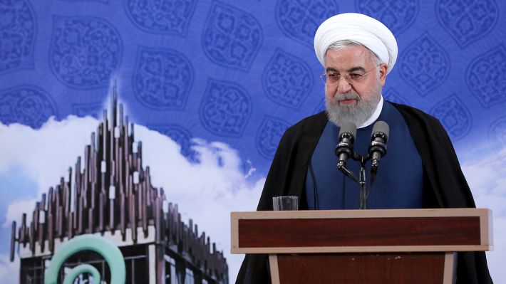 Από τη σημερινή ομιλία του Ιρανού προέδρου Χασάν Ρουχανί