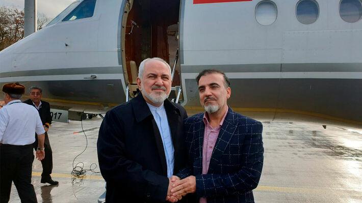 Ο Ιρανός Μασούντ Σολεϊμανί που απελευθερώθηκε από τις ΗΠΑ