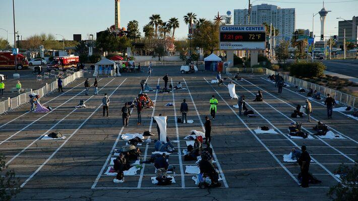 Άστεγοι, εν μέσω πανδημίας, στις ΗΠΑ