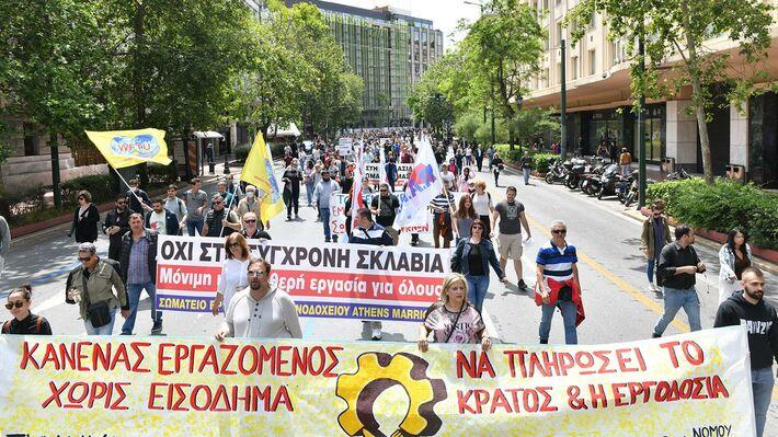 Βία και χημικά η απάντηση της κυβέρνησης στους εργαζόμενους στα ξενοδοχεία – επισιτισμό – τουρισμό
