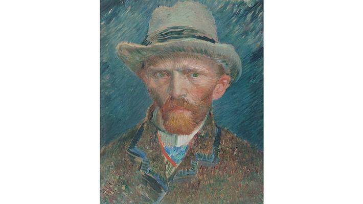 Αυτοπροσωπογραφία του Βαν Γκογκ φτιαγμένη από τον ίδιο τον ζωγράφο
