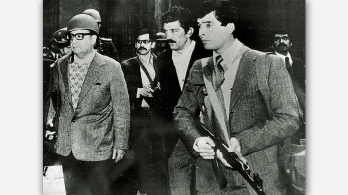 Προεδρικό Μέγαρο της Μονέδα, Σαντιάγο δε Τσίλε, 11 του Σεπτέμβρη 1973
