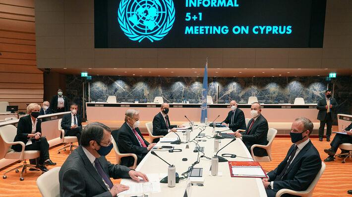 Από την άτυπη πενταμερή διάσκεψη για το Κυπριακό στη Γενεύη