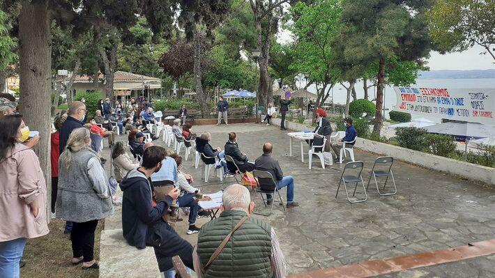 Από την ανοιχτή γενική συνέλευση στην Καλαμαριά